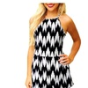 Womens Sleeveless Short Pant Romper Jumpsuit with Spaghetti Straps