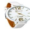 New Luxury Women Dress Leather Strap Wrist Watch