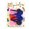 Eden Girls Plastic Flower Hair Barrettes - 10-18 Pcs.