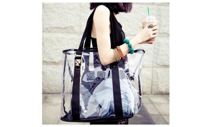 Beach Bag Transparent Ladies Handbag