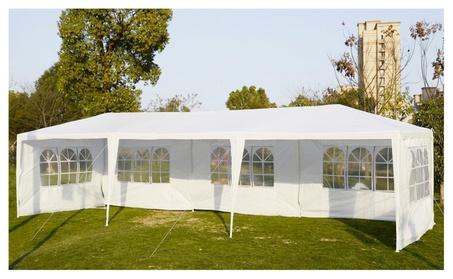 Wedding Party Tent Canopy 10'x30' White Awning Pavilion Event Gazebo 0e4d4dd8-796e-436f-9471-41d963c0137c