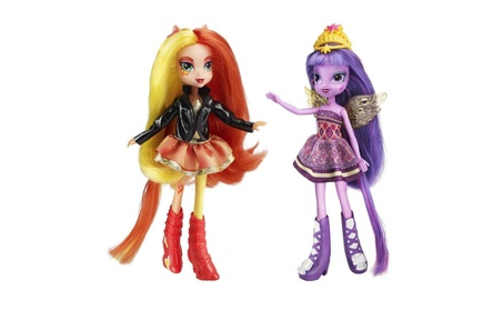 My Little Pony Equestria Girls Sunset Shimmer & Twilight Sparkle Doll 08953c57-dd30-4e1f-b4e2-c42fca0a5eba