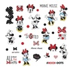 Disney RMK3257SCS Minnie Rocks The Dots Peel  Stick Wall Decals