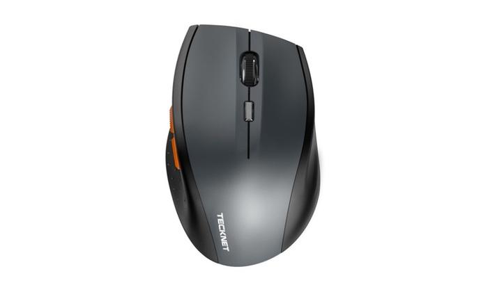 31f6fd3d420 TeckNet bluetooth wireless mouse, grey (BM306) | Groupon