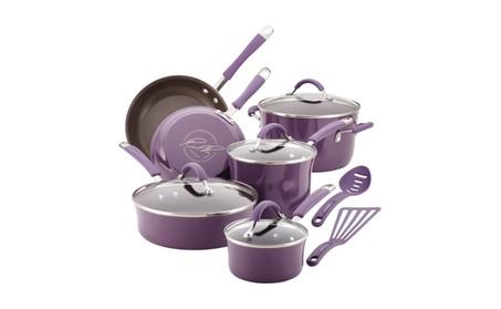 Cucina 12 Piece Non-Stick Cookware Set By Rachael Ray b6b06e1e-da10-4416-af62-59c048ffa3af