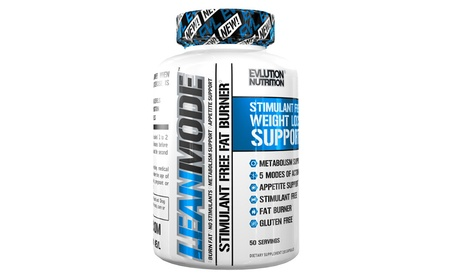 Nutrition Lean Mode Stimulant-Free Weight Loss Support with Garcinia