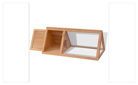 Animal Rabbit Wooden Cage 68045837-26f0-43b6-aae8-0060c9f0fb26