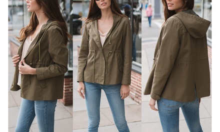 Women's Lightweight Utility Jacket. Plus Sizes Available