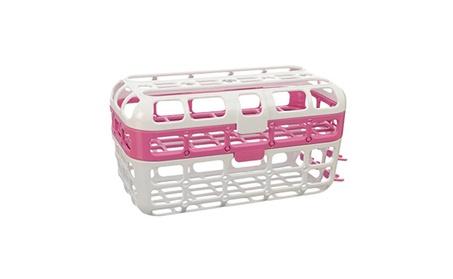 Munchkin High Capacity Dishwasher Basket, Pink 278f6b8a-a0de-45fd-b3f2-1be22cb2626d