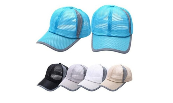 Summer Breathable Mesh Baseball Cap Men Women Sport Hats ,Unisex