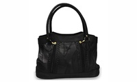 AFONiE Classic Leather Hobo Purse For Women photo
