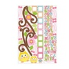 Roommates Scroll Tree Letter Branch Wall Decals