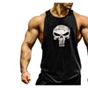 Men's Muscle Cut Stringer Workout T-shirt Gym Tank Top