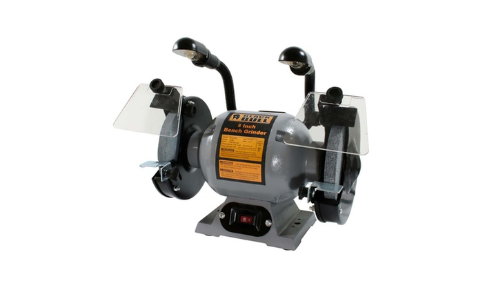 Pleasant Black Bull 8 Inch Bench Grinder With Lights Alphanode Cool Chair Designs And Ideas Alphanodeonline