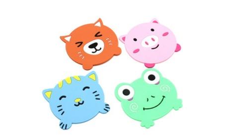 Cute Cup Mat Silicone Rubber Coaster Insulation Soft Pad Placemat e7f851cd-2df1-4537-8e55-b9e0c1388cea