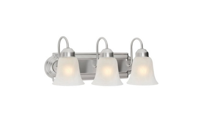 Chapter 3 Light Bathroom Vanity Light, Satin Nickel