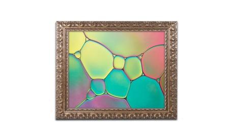 Cora Niele 'Stained Glass I' Ornate Framed Art 44eac0fa-b85b-4080-8b52-692556efa384