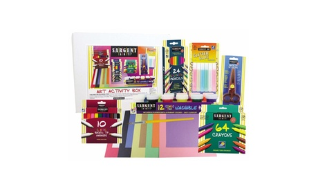 Sargent Art - 9 Piece Glitter and Paint Art Activity Box efc1b5e1-a62a-42f2-8ddb-867c26f09323