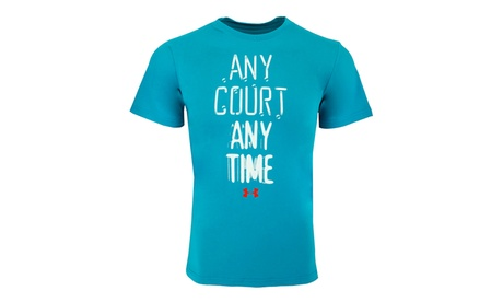 Under Armour Men's Any Court Any Time T-Shirt 2ddd3c25-e2c6-46ff-90c7-452d9465bb20