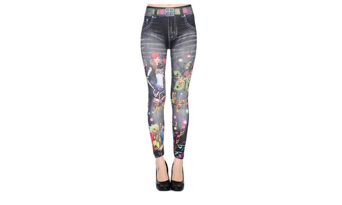 Women's Straight High Rise Waterproof Casual Simple Pants – As Picture / One Size