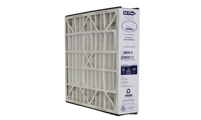"Trion Air Bear 259112-103 - Pleated Furnace Air Filter 20""x20""X5"" MERV"