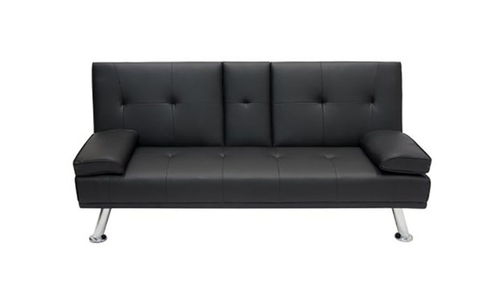 Futon Sofa Bed Fold Up Down Recliner