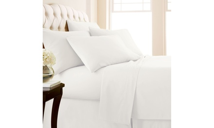 6 Piece Organic Bamboo Sheet Set in Multiple Colors