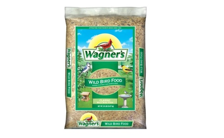 Wagner's 52004 Classic Wild Bird Food, 20-Pound Bag (Goods Pet Supplies Bird Supplies) photo