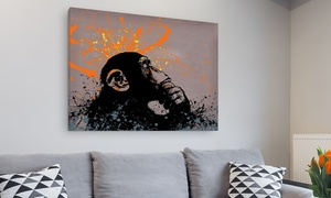Banksy Gallery-Wrapped Canvas Art Prints