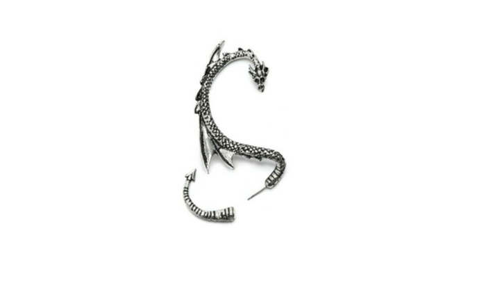 Holiday Gifts: New Vintage Style  Gothic Punk Earring Fly Dragon Ear Cuff Wrap - 1PC