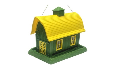 North States 9068 Large Barn Bird Feeder Green (Goods For The Home Patio & Garden Bird Feeders & Food) photo