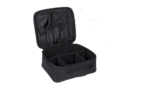 Portable Travel Makeup Bag Makeup Case Organizer fe9a9a3b-12a6-4a88-845f-4c23699f7855
