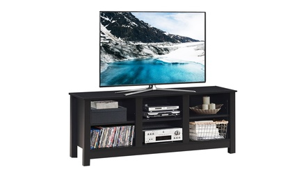 Costway TV Stand Cabinet for TV's Up to 60'' Entertainment Center w/Shelves