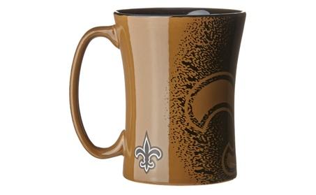 New Orleans Saints Coffee Mug - 14 oz Mocha ab253e63-c122-4944-8aca-449ce27d3b99