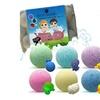 Kids Bath Bombs with Hidden Toys Inside