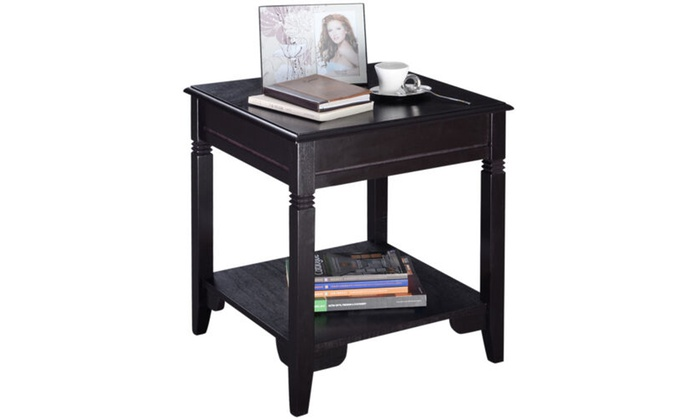 Prime Up To 23 Off On Nolan End Table Durable Side Groupon Machost Co Dining Chair Design Ideas Machostcouk