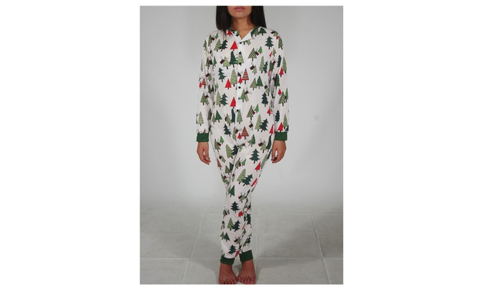 Adult flapjack onesie matching christmas family pajamas for women
