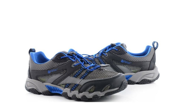 Men's Solid Mesh Solid Hiking Shoes