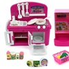 Mini Dream Kitchen Children's Kid's Toy Kitchen Playset w/ Accessories