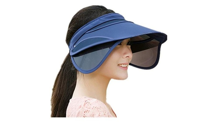 Women Hat Sun Hat Anti-UV Hat Topee Ultralight Breathable Cap