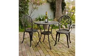 Palermo Bistro Set with Ice Bucket