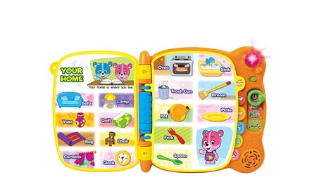 Touch and Teach Word Musical Rhymes Book For Kids