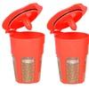 24K Gold Reusable Carafe K-Cups for Keurig 2.0, K200, K300, K400, K500