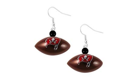 NFL Tampa Bay Buccaneers Mini Football Dangle Earring 62f33577-4d1c-4787-a5fc-e187f00b8738