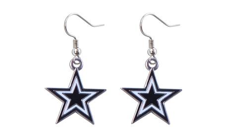 Dallas Cowboys Dangle Logo Earring Set NFL Charm Gift 8ee5ed18-43fc-4b86-9254-f9b85d255f41