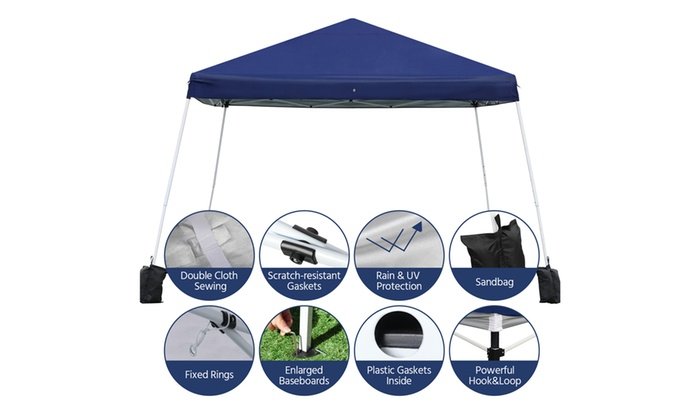 12 X Pop Up Canopy Tent Outdoor Patio Gazebo Instant Shelter Party