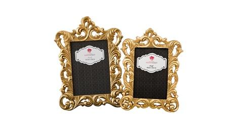 Gold Metallic Baroque Frame 2cf072fb-ec3d-43e6-ba88-d82f781062ee