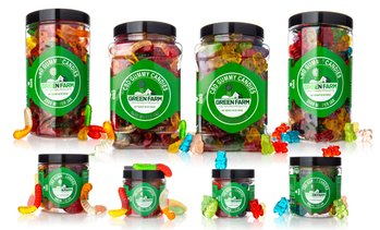 Clear Gummies Infused with Organic CBD (500MG - 5000MG) from Green Farm