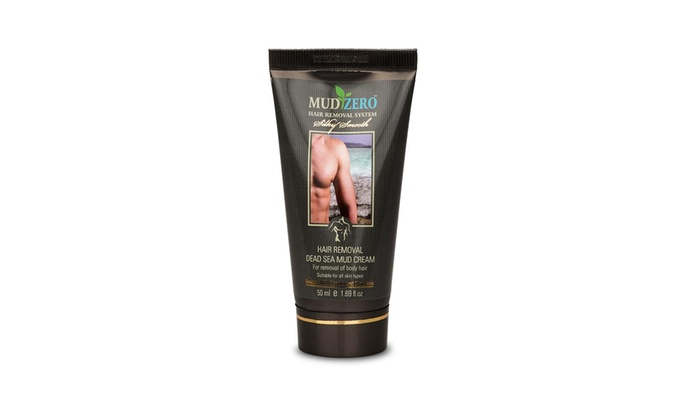 Mudzero Dead Sea Hair Removal Cream For Men 50ml Groupon