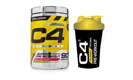 Cellucor C4 Original Pre-Workout - 90 Servings with Mini Shaker Each